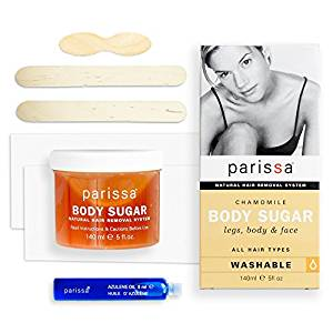 Parissa Chamomile Body Sugar Home Waxing Kit